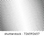 abstract halftone wave dotted... | Shutterstock .eps vector #726592657