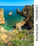 ponta da piedade  group of rock ... | Shutterstock . vector #726638317