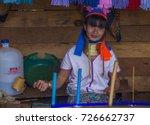 kayan state   myanmar   sep 09  ... | Shutterstock . vector #726662737