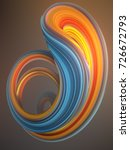 blue and orange colored... | Shutterstock . vector #726672793