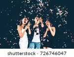 celebration party group of... | Shutterstock . vector #726746047