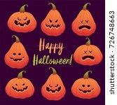 halloween vector illustration....   Shutterstock .eps vector #726748663
