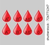 blood donation vector | Shutterstock .eps vector #726771247