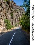 road in the valley | Shutterstock . vector #726806587