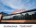 edinburgh  united kingdom   8... | Shutterstock . vector #726814687