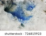 abstract watercolour background ... | Shutterstock . vector #726815923