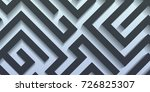 abstract minimal geometric... | Shutterstock .eps vector #726825307