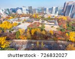 deoksugung palace  seoul in... | Shutterstock . vector #726832027