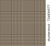 hounds tooth seamless vector... | Shutterstock .eps vector #726834577