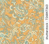 vintage floral seamless patten... | Shutterstock .eps vector #726847363