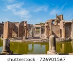 maritime theatre at hadrian's... | Shutterstock . vector #726901567