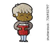 cartoon curious boy   Shutterstock .eps vector #726932797