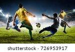 soccer best moments. mixed media | Shutterstock . vector #726953917