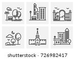 Set Of Linear Icons  Containin...