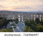 aerial view of uzunkemer... | Shutterstock . vector #726986497