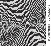 waveform background. dynamic...   Shutterstock .eps vector #727033243