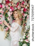 beautiful pregnant woman | Shutterstock . vector #727059547