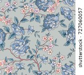 Floral Pattern. Flower Seamles...