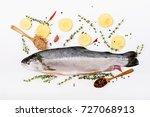Fresh Raw Salmon Red Fish ...