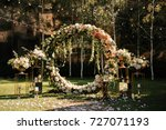 Wedding. Wedding Ceremony. Arc...