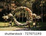wedding. wedding ceremony. arch....