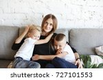 picture of beautiful young... | Shutterstock . vector #727101553