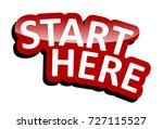 banner start here | Shutterstock .eps vector #727115527