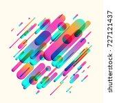 vector illustration of dynamic... | Shutterstock .eps vector #727121437