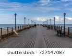 a view along skegness pier  uk... | Shutterstock . vector #727147087