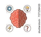 mental health design | Shutterstock .eps vector #727158433