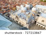 aerial view of st mark's... | Shutterstock . vector #727213867