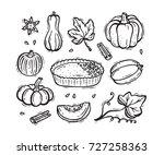 vector food autumn harvest
