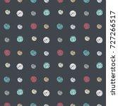 vector illustration of seamless ... | Shutterstock .eps vector #727266517