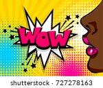 open sexy lips lipstick. wonder ...   Shutterstock . vector #727278163