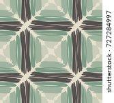 seamless checkered pattern.... | Shutterstock .eps vector #727284997