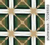 seamless checkered pattern.... | Shutterstock .eps vector #727285003