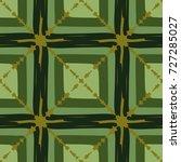 seamless checkered pattern.... | Shutterstock .eps vector #727285027