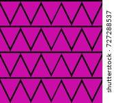 triangle pattern design ... | Shutterstock .eps vector #727288537