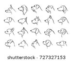 Collection Of Dogs Heads...