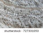 Layers Of Dark Flint Pebbles I...