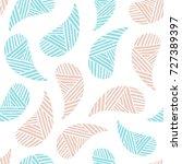 seamless pattern of beautiful...   Shutterstock .eps vector #727389397
