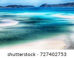 in australia the beach of... | Shutterstock . vector #727402753