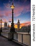 the big ben and westminster in...   Shutterstock . vector #727464823