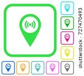 free wifi hotspot vivid colored ... | Shutterstock .eps vector #727470493