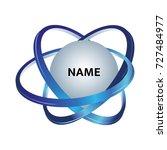 vector logo template for... | Shutterstock .eps vector #727484977