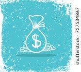 bag of dollars  money. logo for ...