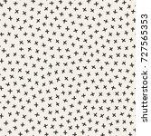 scattered geometric line shapes....   Shutterstock .eps vector #727565353