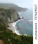 Small photo of Color photograph of Northern California coast