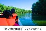 danube delta unesco site in... | Shutterstock . vector #727640443