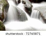 Cascade Falls Over Old Plum...